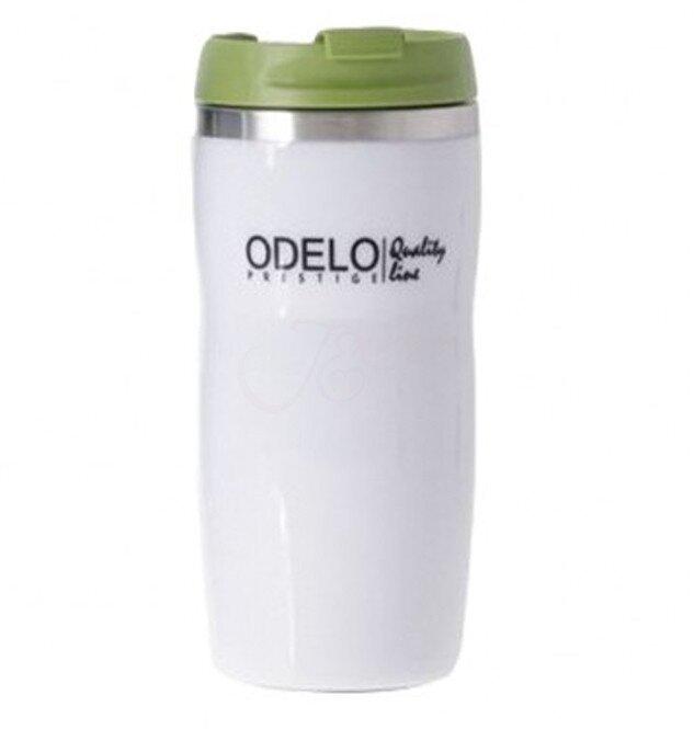 0,28 l Termohrnček ODELO OD1447 (biela + zelená)