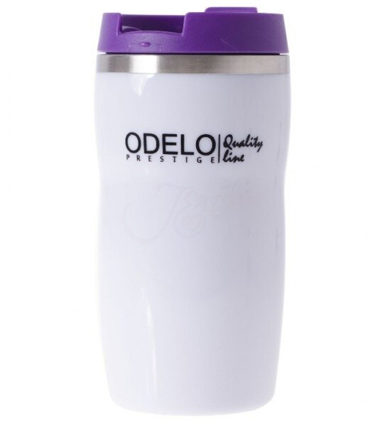 0,28 l Termohrnček ODELO OD1447 (biela + fialová)