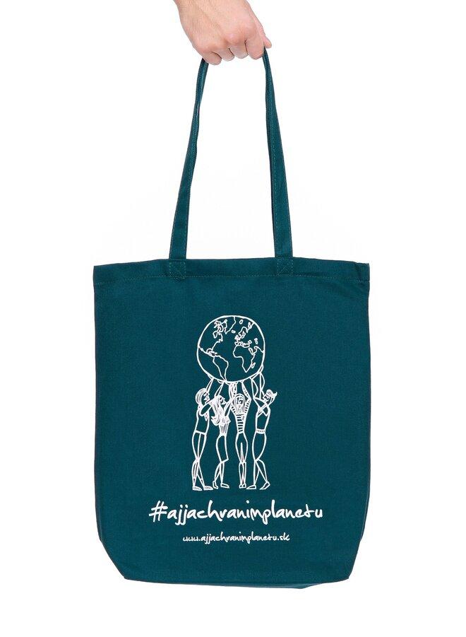 """Bavlnená ekologická taška """"Planéta"""""""