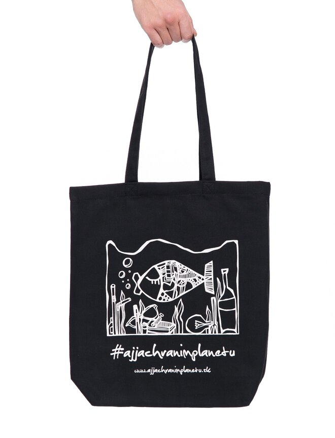 "Bavlnená ekologická taška ""Rybka"""