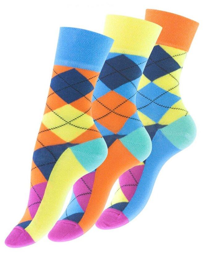 3 páry Dámske ponožky Vincent Creation