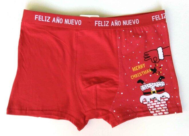 Pánske vianočné boxerky (komín)
