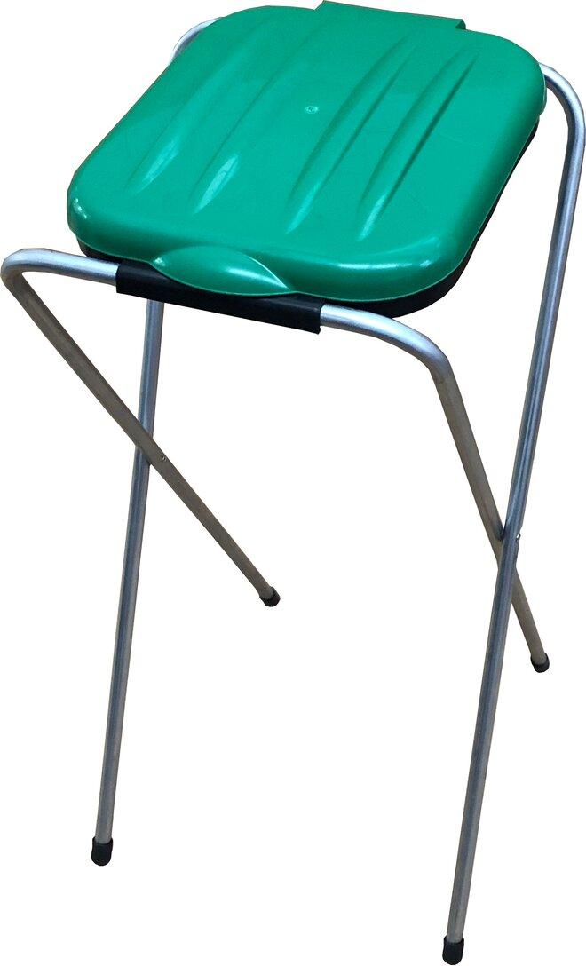 1 x 120 l Stojan na odpadkové sáčky (zelený)