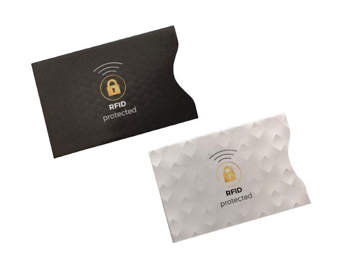 6 ks Ochrana kreditnej karty RFID (mix farieb)