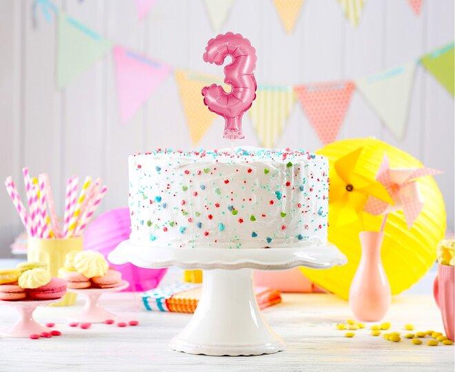 Balón na tortu číslo 3 - Veľkosť 13 cm