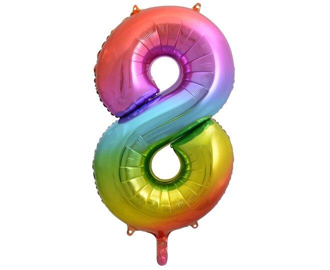 Balón číslo 8 - Veľkosť 92 cm