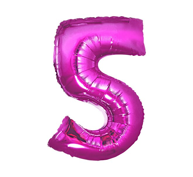 Balón číslo 5 - Veľkosť 92 cm