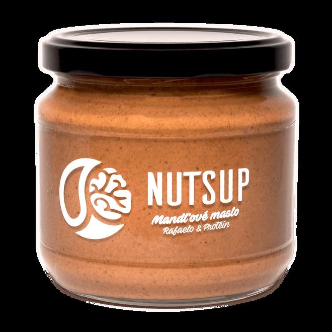 340 g Mandľové maslo Nutsup (rafaelo + proteín)
