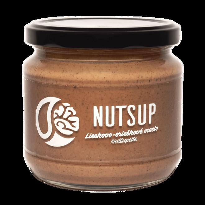 340 g Lieskovo-orieškové maslo Nutsup (nutsupella)