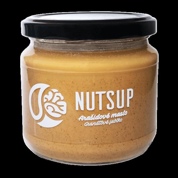 340 g Arašidové maslo Nutsup (granátové jablko)