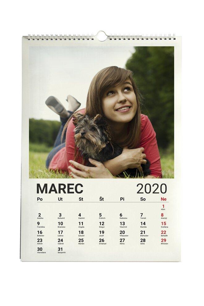 Fotokalendár A3 nástenný mesačný (cca 29,7 x 42cm)