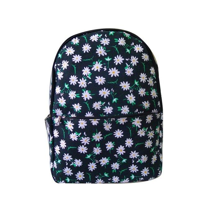 Dámsky látkový batoh s potlačou