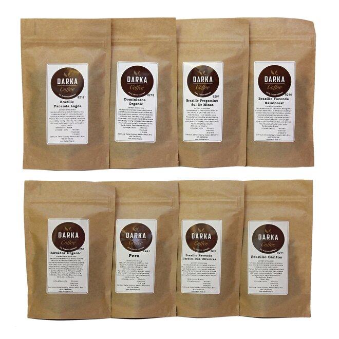 8 x 50 g Kávové degustačné menu Latino