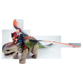 Mystický drak (hnedý + zelený)