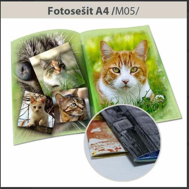 Luxusná fotokniha M05 - formát A4 na výšku (40 strán)