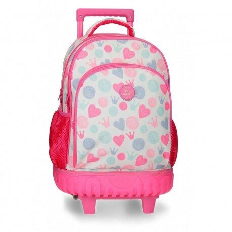 Školský batoh na kolieskach QUEEN