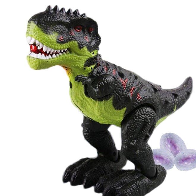 Dinosaurus Tyranosaurus (zelený + čierny)