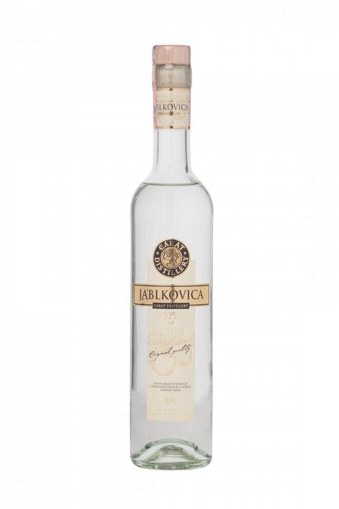 0,5 l Carat Jablkovica (52 %)
