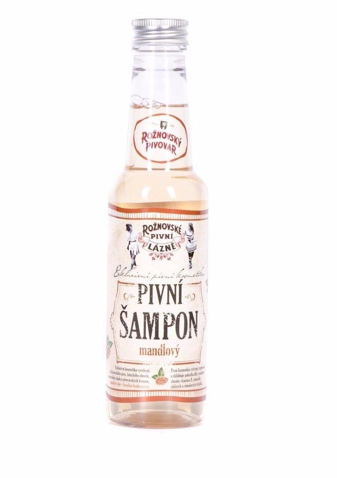 Pivný šampón mandľový