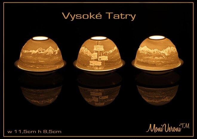 Porcelánový svietnik (Vysoké Tatry)