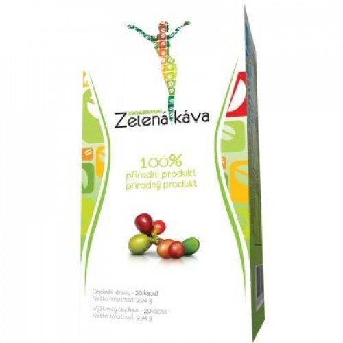 1 x 20 kapsúl STRONG NATURE® Zelená káva Plus