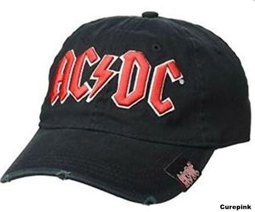 Šiltovka s logom AC/DC