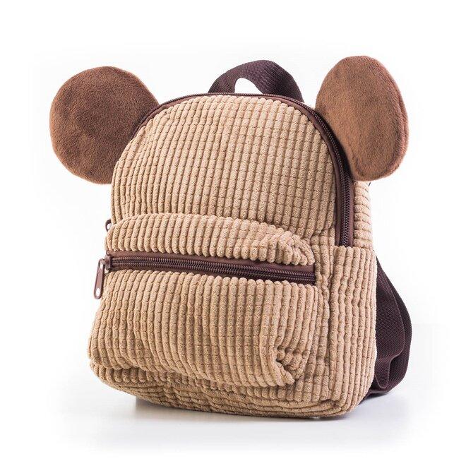 Detský plyšový batoh s uškami
