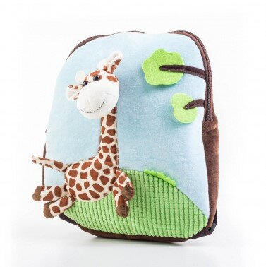 Detský batoh s plyšovou žirafou