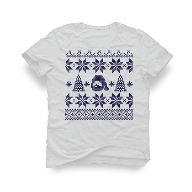 Pánske tričko s nórskym vzorom Mikuláš