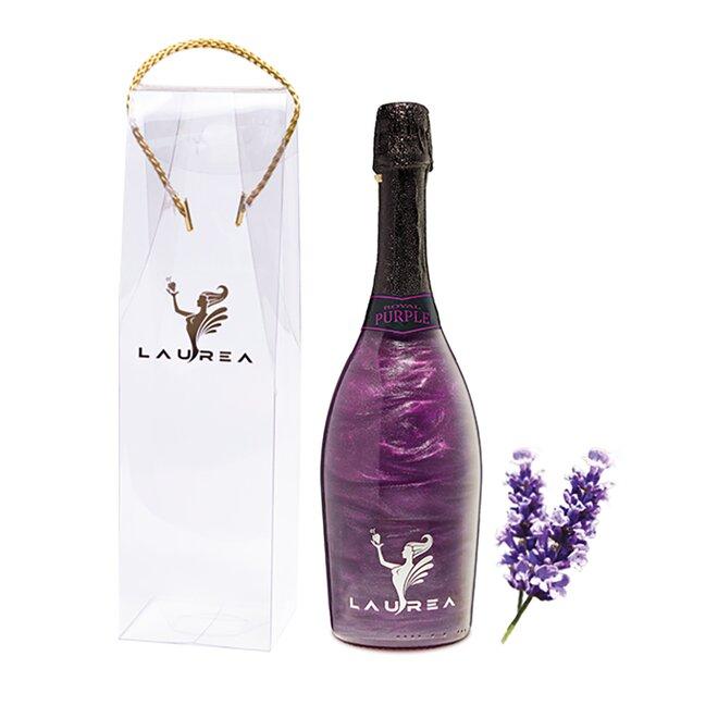 Nápoj na báze vína s perleťou Magic Royal Wine (Royal Purple / príchuť levanduľa)