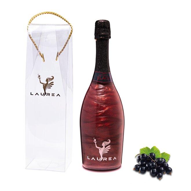 Nápoj na báze vína s perleťou Magic Royal Wine (Royal Black / príchuť čierna ríbezľa)