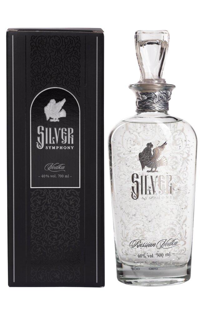 0,7 l Vodka Silver Symphony (40 %)