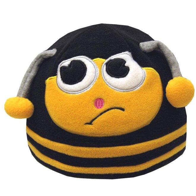 Detská fleecová čiapka včielka