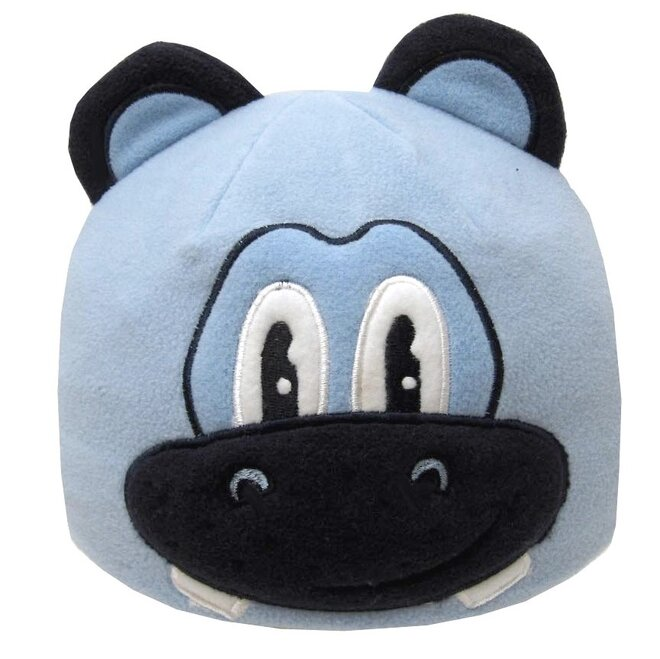 Detská fleecová čiapka hrošík