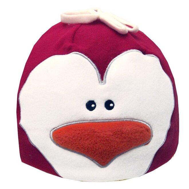 Detská fleecová čiapka tučniak