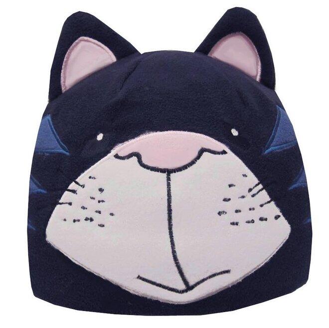 Detská fleecová čiapka mačka