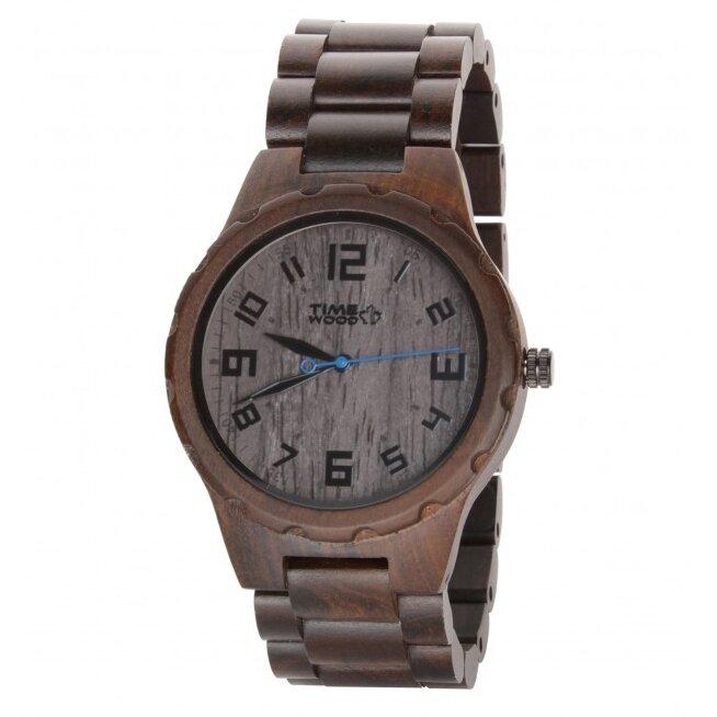 Drevené hodinky Zara