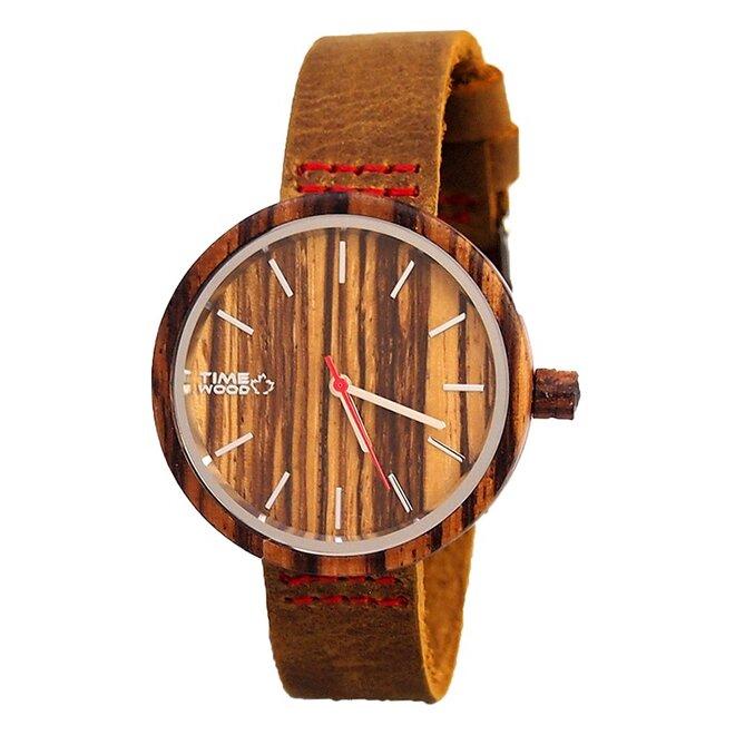 Drevené hodinky Brill
