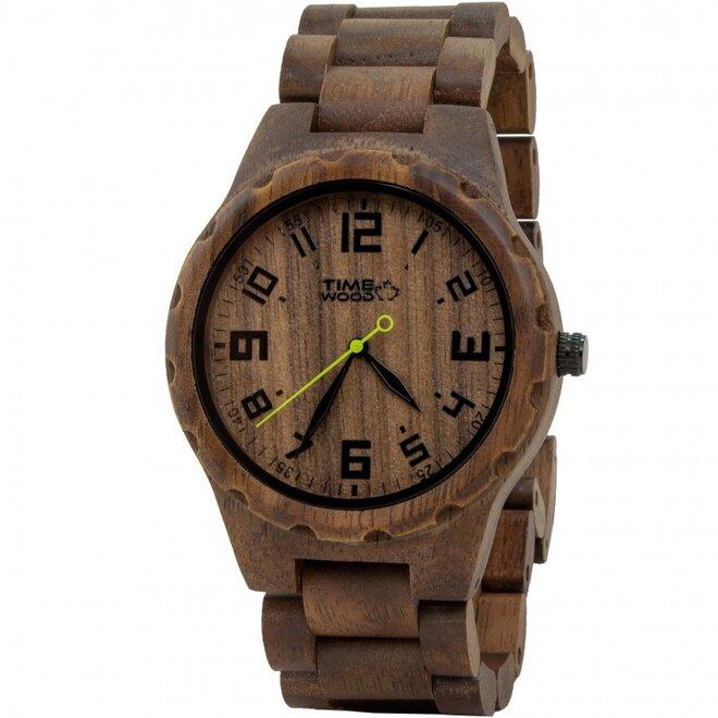 Drevené hodinky Nutty