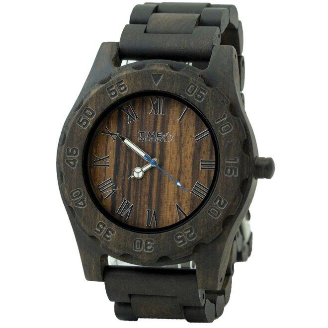 Drevené hodinky Saint
