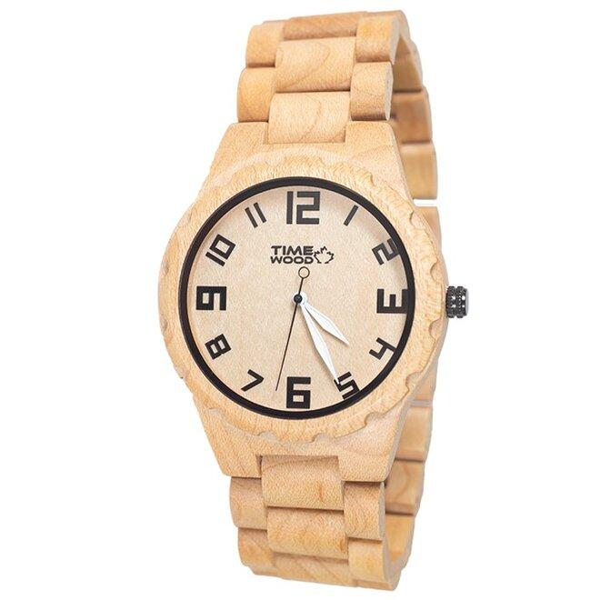 Drevené hodinky Zappa