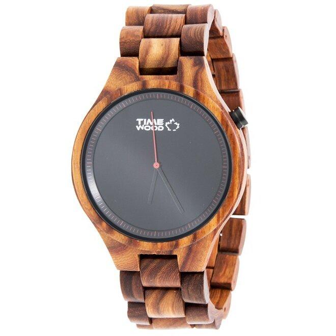 Drevené hodinky Rosso