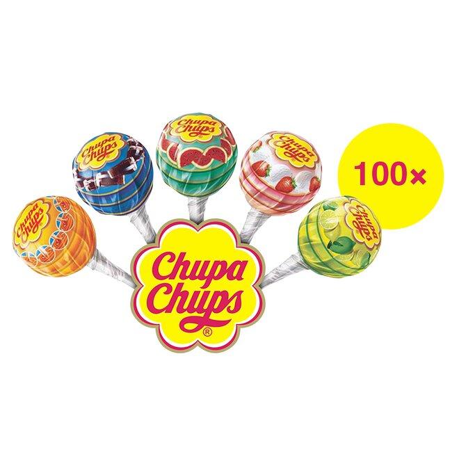 100 ks Mini lízanky Perfetti Van Melle Chupa Chups