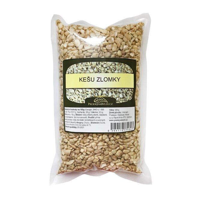 500 g Kešu orechy zlomky