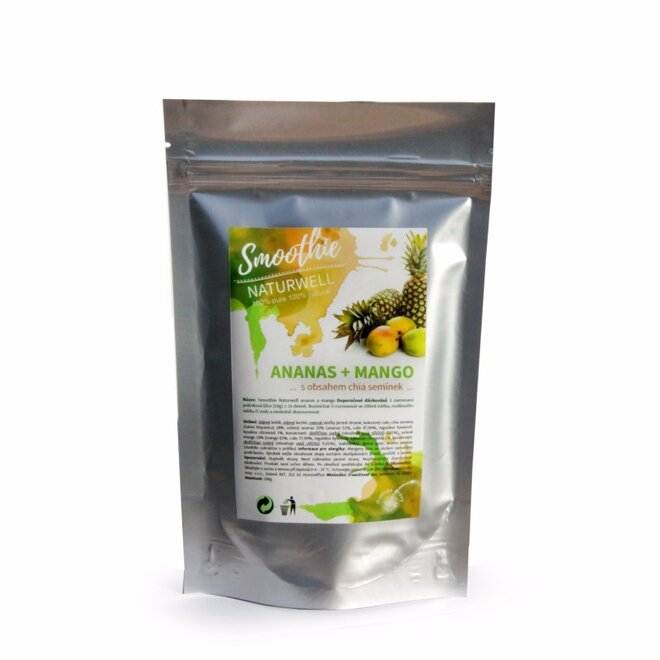 100 g Smoothie Naturwell (Ananás a mango)