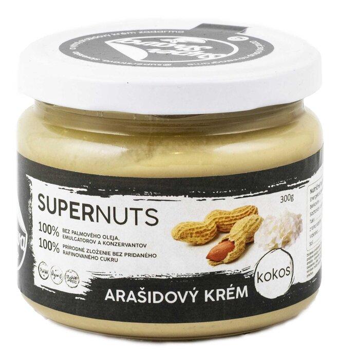 300 g Arašidovo-kokosový krém Supernuts