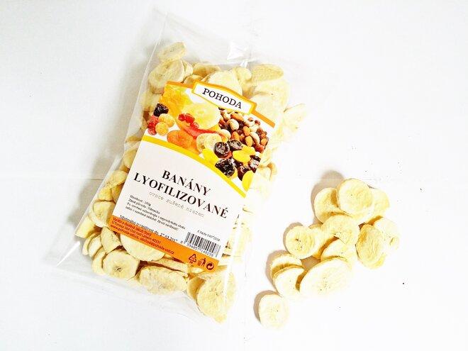100 g Banán plátky