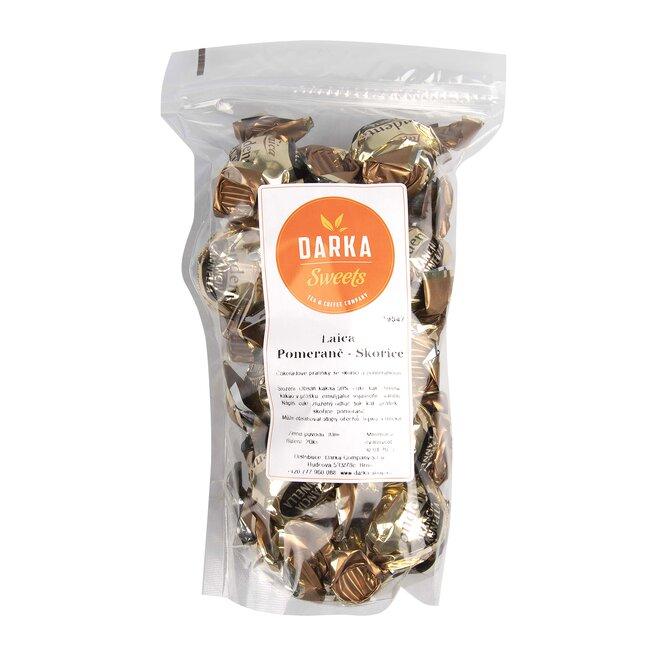 10 ks Talianske čokoládové pralinky Laica (pomaranč - škorica)