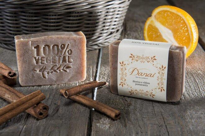 Mydlo Škorica s vôňou pomaranča
