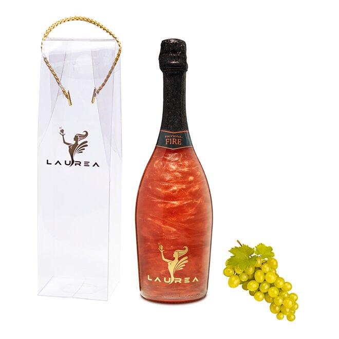 Nápoj na báze vína s perleťou Magic Royal Wine (Royal Fire / príchuť muškát)